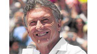 Macri. El candidato de Cambiemos es actualmente jefe del gobierno porteño.