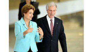 Dilma y Tabaré