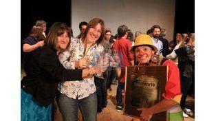 Los ganadores del Oro y el Proscenio. (Foto: UNO/Diego Arias)