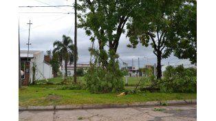 El gobierno provincial brinda asistencia tras el temporal