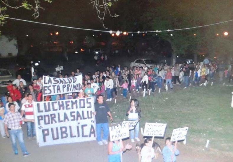 La comunidad de Villaguay realizó varias marchas pidiendo soluciones.