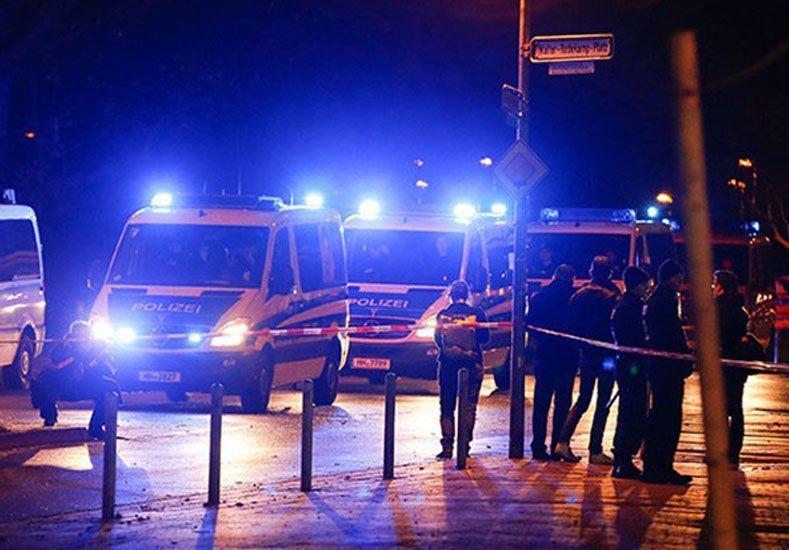 Encontraron una ambulancia con explosivos cerca del estadio donde iban a jugar Alemania y Holanda