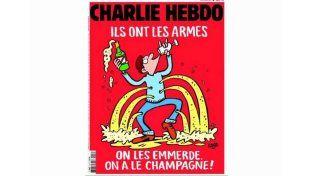 La nueva portada de Charlie Hebdo luego de los atentados en París