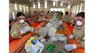El sábado reciclarán los residuos secos