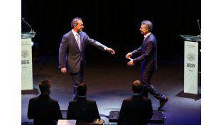 El debate presidencial alcanzó los 53 puntos de rating
