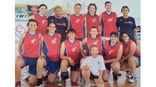 Las chicas de Córdoba presentes en Paraná.