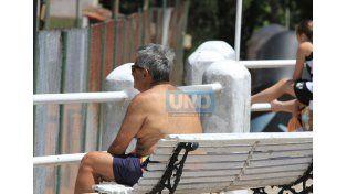 Protegerse. Advirtieron sobre los peligros del sol en la piel.  Foto UNO/Diego Arias