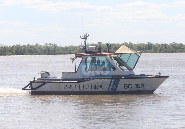 Personal de Prefectura y la Policía de Entre Ríos iniciaron un operativo y buscan intensamente al joven.   Foto UNO/Archivo ilustrativa