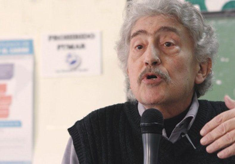 Hondo pesar por el fallecimiento del profesor Sergio Caletti.  Foto: Internet