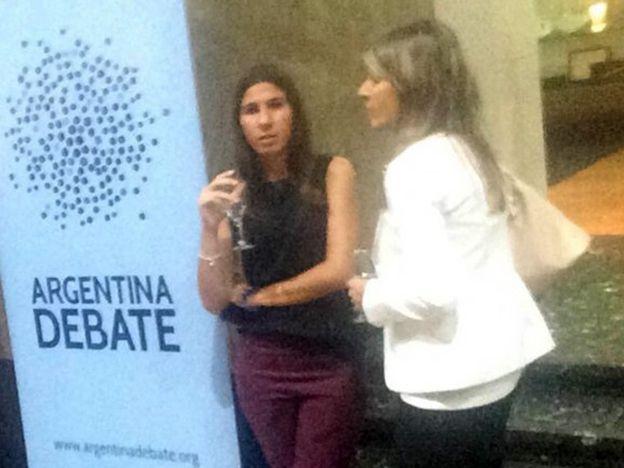 Arroyo Salgado y la hija de Nisman presentes en el debate