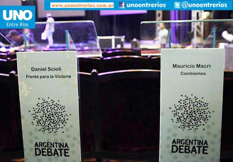 Debate Presidencial: Scioli y Macri expusieron sus propuestas de cara al Balotaje