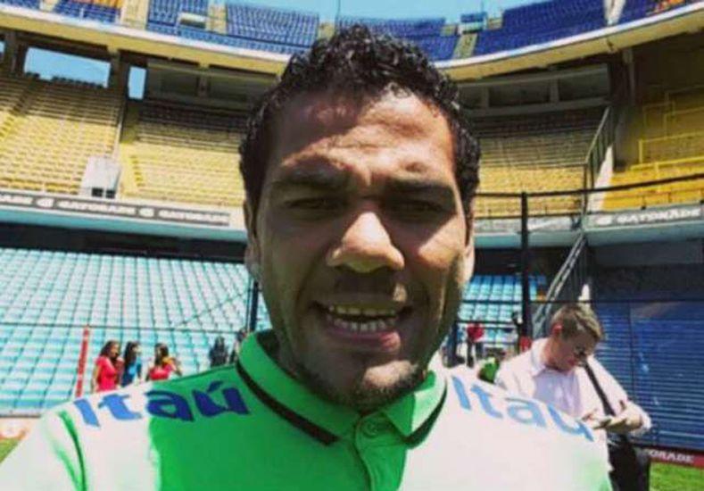 Dani Alvez estuvo en La Bombonera y no pudo contener su alegría