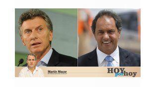 Macri, Scioli y los publicitarios en los que confían