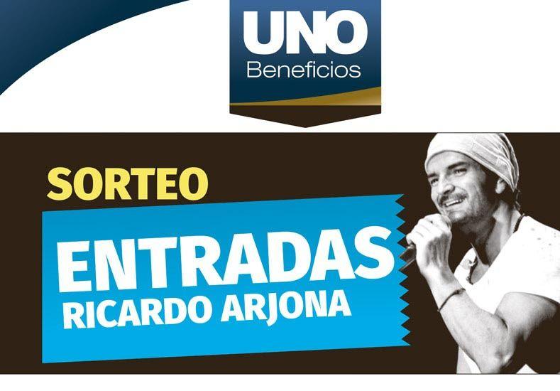 Beneficios UNO sortea entradas para ver a Ricardo Arjona