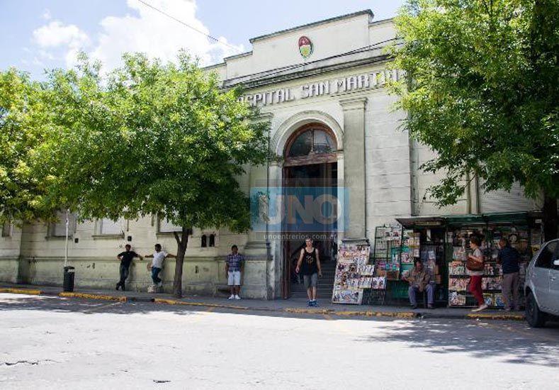 El hombre está internado en el hospital San Martín. (Foto UNO/Ilustrativa/Archivo)