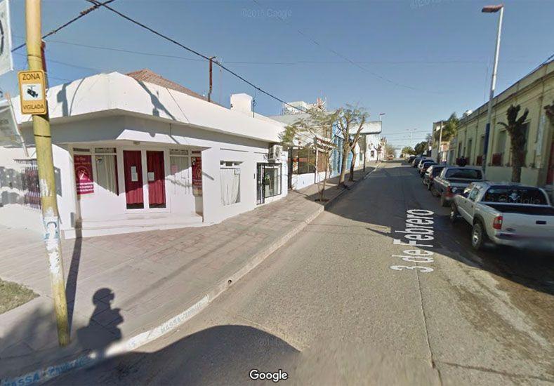 El templo donde fue encontrado el niño. (Foto: Google Street View)