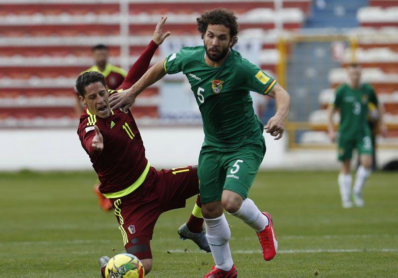 Bolivia goleó a Venezuela y obtuvo su primera victoria