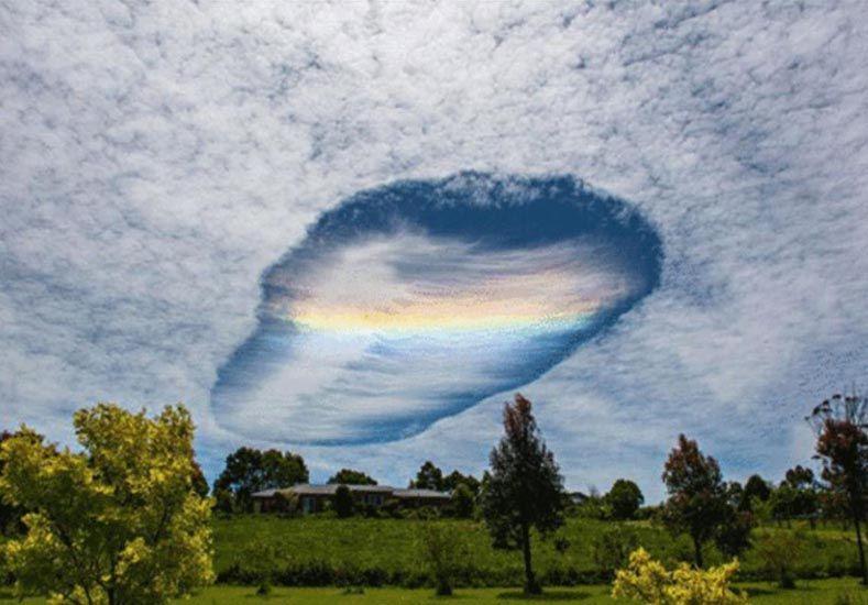 ¿Qué es el extraño agujero que se formó en el cielo de Australia?
