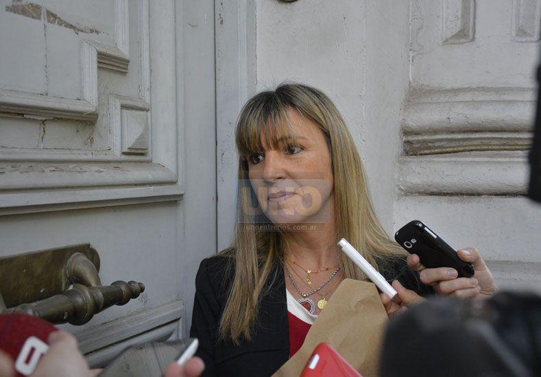Investigación. La jueza Paola Firpo sigue hoy con más medidas. Foto UNO/Mateo Oviedo