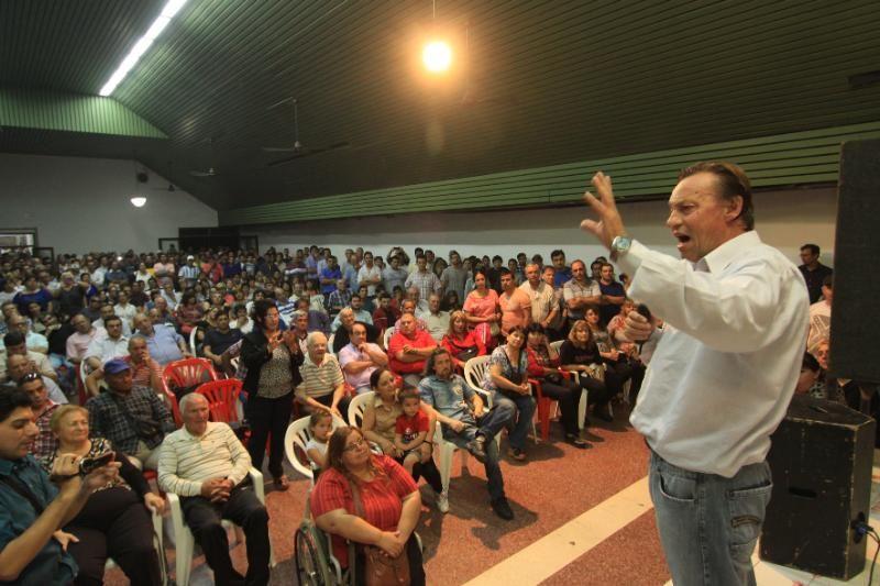 Varisco instó al voto a Macri en un encuentro con la militancia de Cambiemos