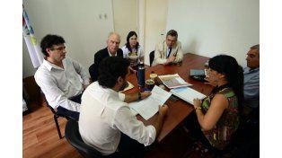 El municipio entregó información sobre obras al equipo de Varisco