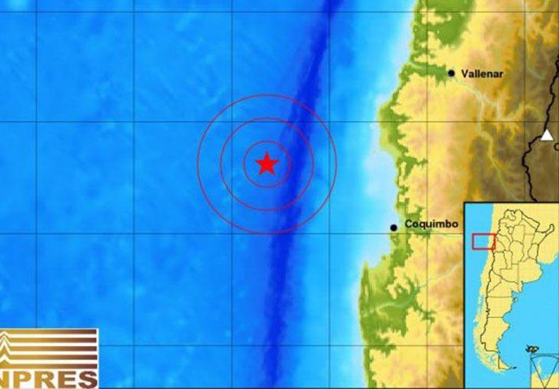 Una seguidilla de terremotos afectó el norte de Chile sin víctimas ni daños materiales
