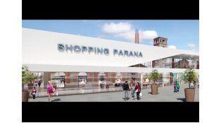 Difunden un video que muestra cómo será el futuro shopping de Paraná