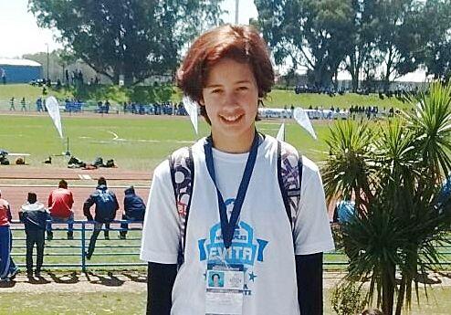 La concordiense Cynthia Soberal se consagró Campeona Nacional de Atletismo