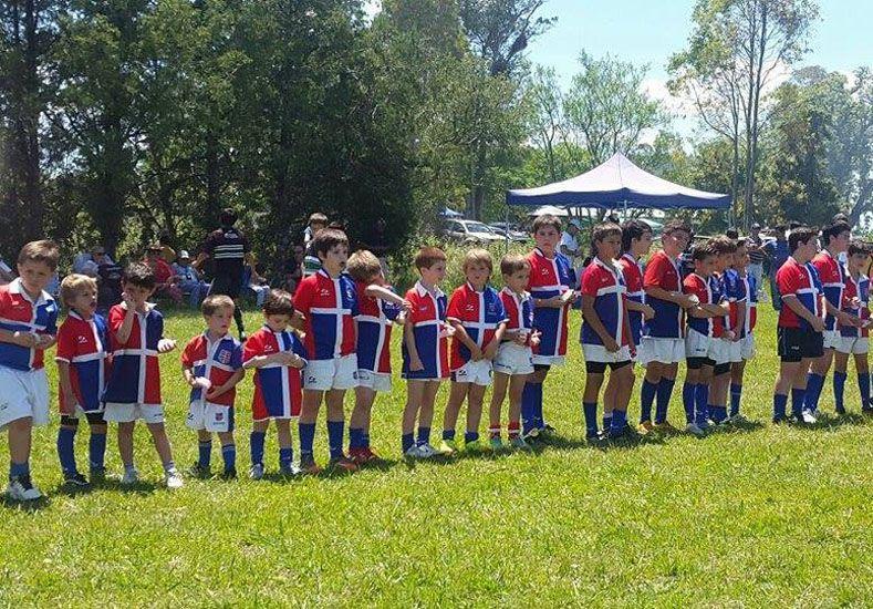 Los chicos de CUCU fueron anfitriones en la actividad del fin de semana.    Foto Gentileza/ Infantiles UER