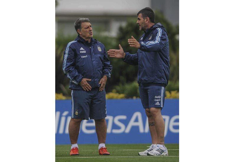 Argentina entrenó pensando en Brasil