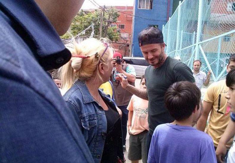 David Beckham estuvo en Buenos Aires
