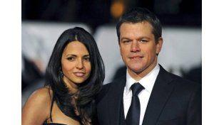 Desmienten el divorcio de Matt Damon y la argentina Luciana Barroso