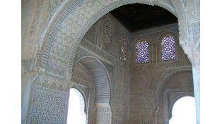 Histórico. El Palacio de Comares en Granada.