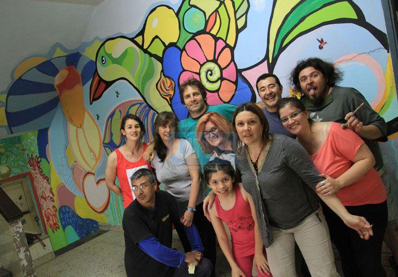Arte sanador. Artistas y amigos