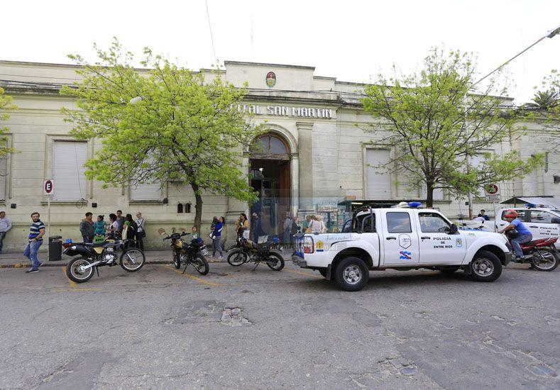 Recibió tres balazos y fue intervenido quirúrgicamente en el hospital San Martín.   Foto UNO/Archivo ilustrativa