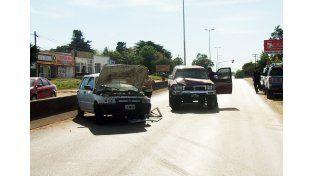 Remisero sufrió grave lesiones al ser embestido y arrastrado por una camioneta