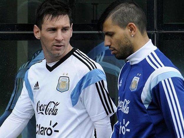 Agüero: Messi es el mejor de todos los tiempos, pero prefiero a Cristiano Ronaldo