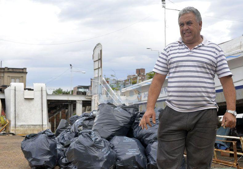 """Cambios. """"El Camino de Sirga se ha perdido por la privatización de la costa"""".  Foto UNO/Mateo Oviedo"""