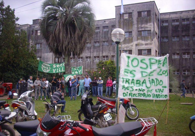 Villaguay se movilizó para exigir que se normalice la atención en el hospital Santa Rosa