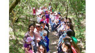 Aula abierta. A El Palmar llegan más de 600 escuelas al año. (Foto gentileza Parque Nacional El Palmar)