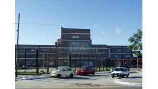 El hecho ocurrió esta madrugada en el  Hospital Delicia Concepción Masvernat de Concordia.  Foto UNO/Archivo ilustrativa