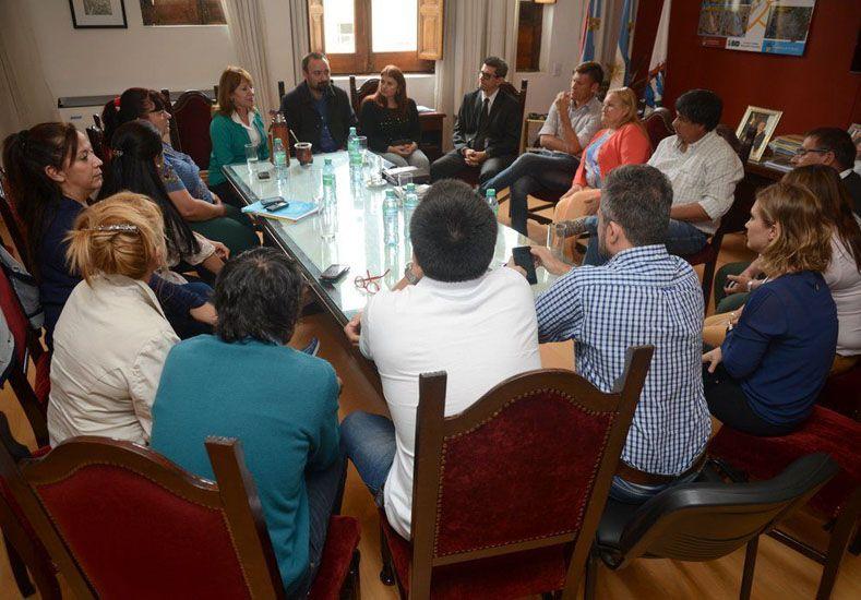 Osuna se reunió con Quinodoz y ediles electos del massismo