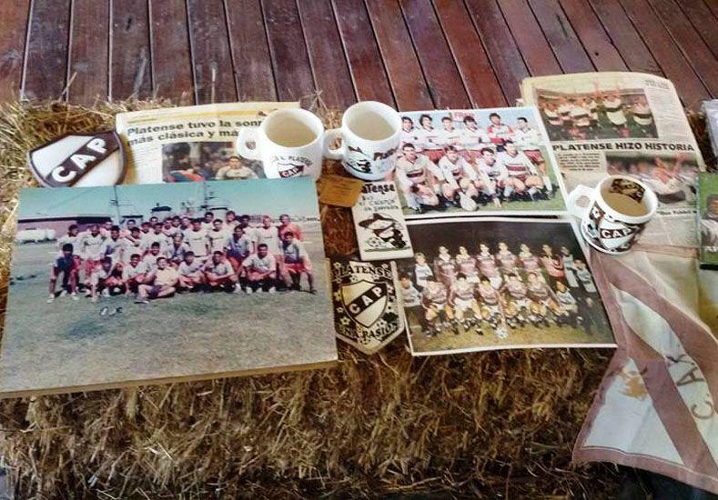 PARA LA MEMORIA. Recuerdos e historias para los más chicos fueron parte de la exposición en Villa Elisa.