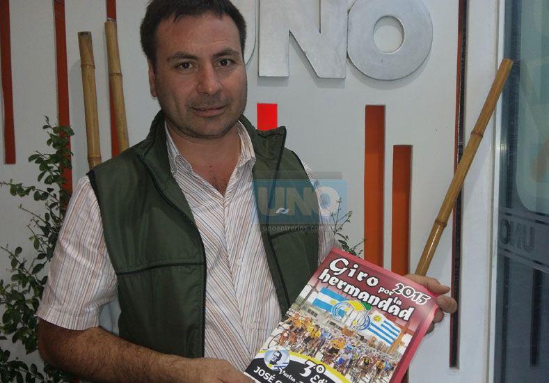Organizador. Julio Páez es la cara visible de la competencia. Ayer habló de la edición que comenzará el jueves 26.