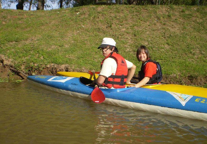 Inclusión. En canotaje es una experiencia destacada.