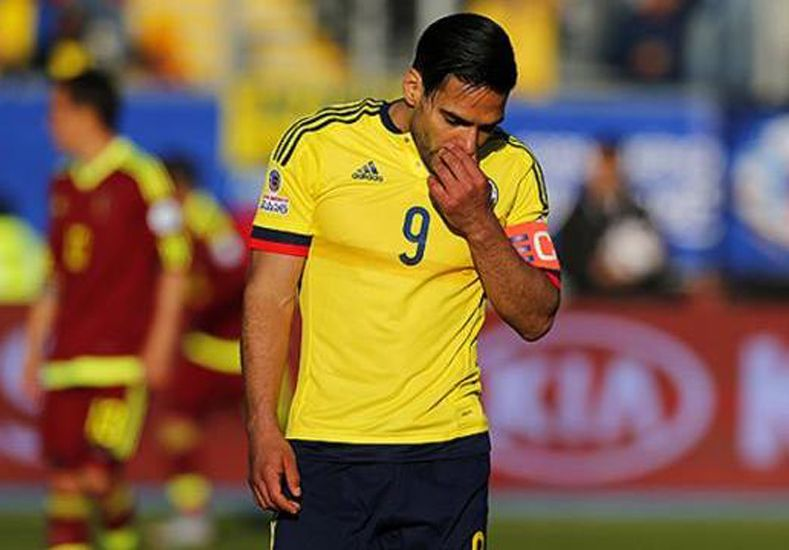 Colombia pierde a Falcao