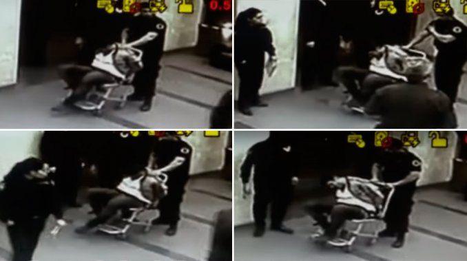 Video: así detuvieron a Matías Alé, luego de agredir a su esposa