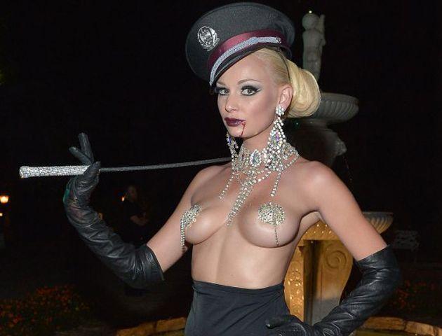 Las grandes protagonistas de la noche fueron las sensuales conejitas de Playboy