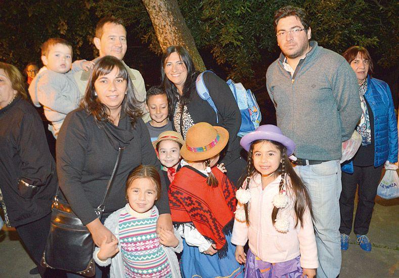 Peña folclórica solidaria
