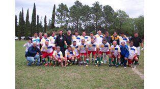 El seleccionado de Paraná se consagró campeón en la categoría Súper A.   Foto Gentileza/Prensa Argentino de Veteranos